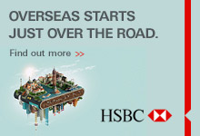 HSBC: Overseas Starts Just Over the Road