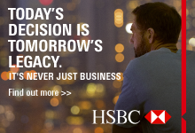HSBC: Today's Decision is Tomorrow's Legacy